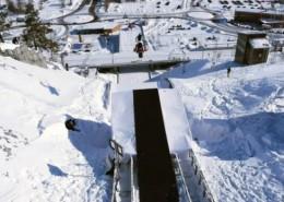 Daniel Bodin snow mobile jump